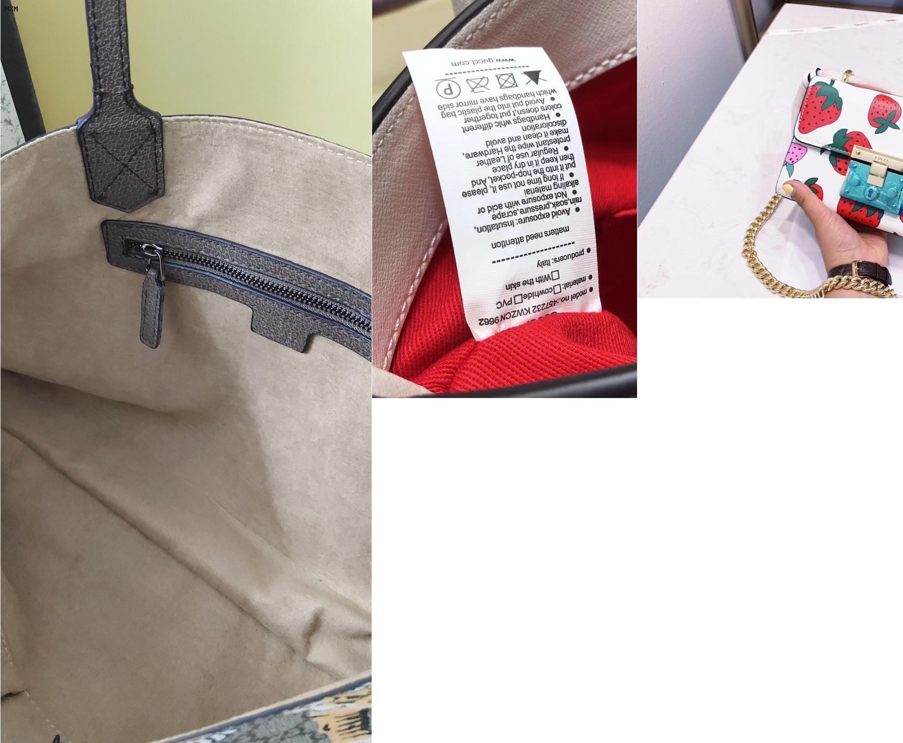 bolsa gucci blanca piel
